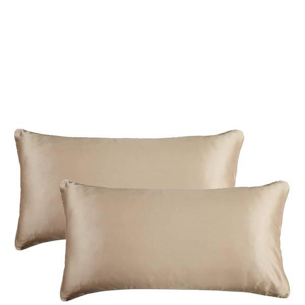 Iluminage Skin Rejuvenating Anti-Aging Copper Pillowcase Duo - Gold