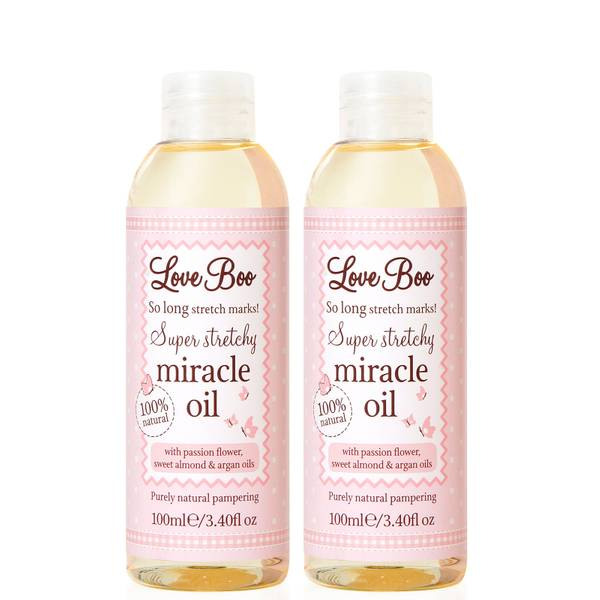 Love Boo Super Stretchy Miracle Oil Set (Worth £31.98)