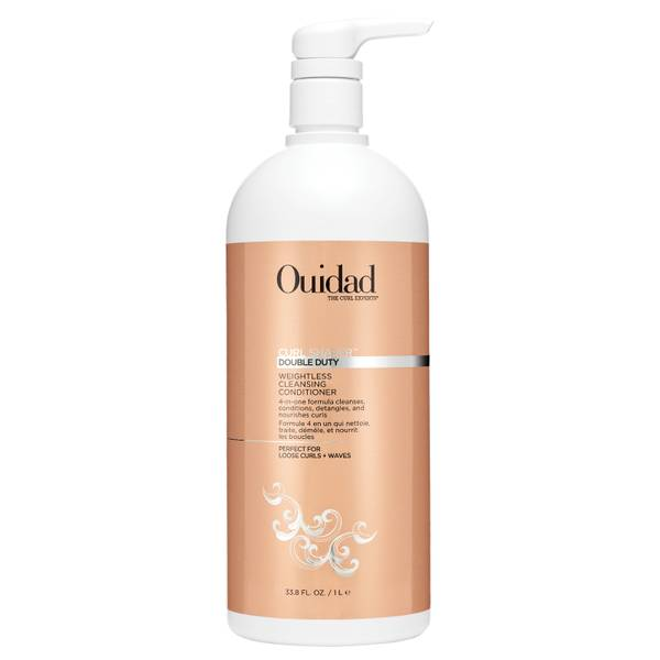 Ouidad Double Duty Weightless Cleansing Conditioner 1000ml