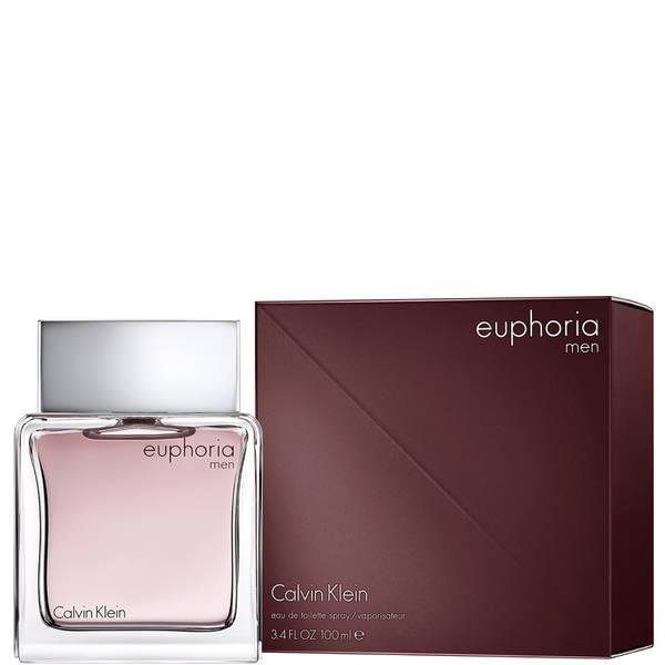 Calvin Klein Men's Euphoria Eau de Toilette Spray 100ml