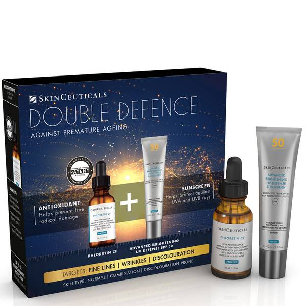 SkinCeuticals Double Defence Phloretin CF Kit for Combination, Discolouration-Prone Skin