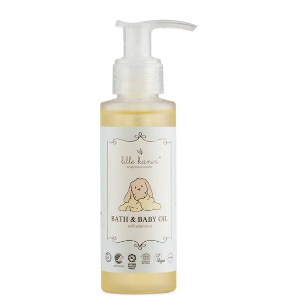 Lille Kanin Cosmos Natural Bath and Baby Oil 100ml