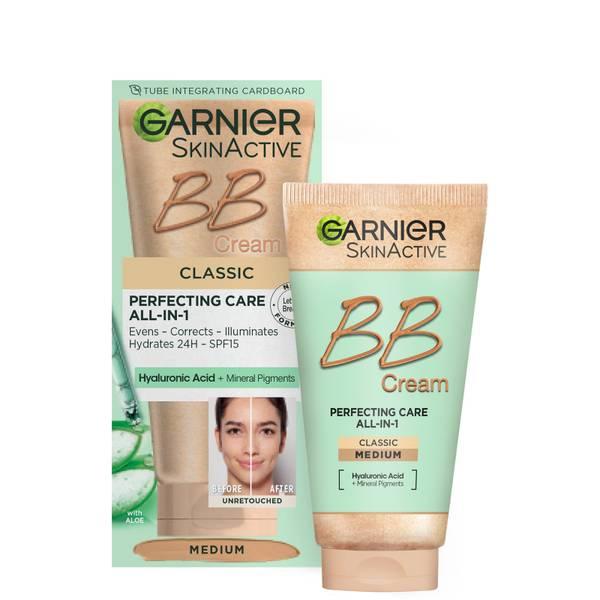Garnier SkinActive BB Cream Tinted Moisturiser SPF15 - Classic Medium