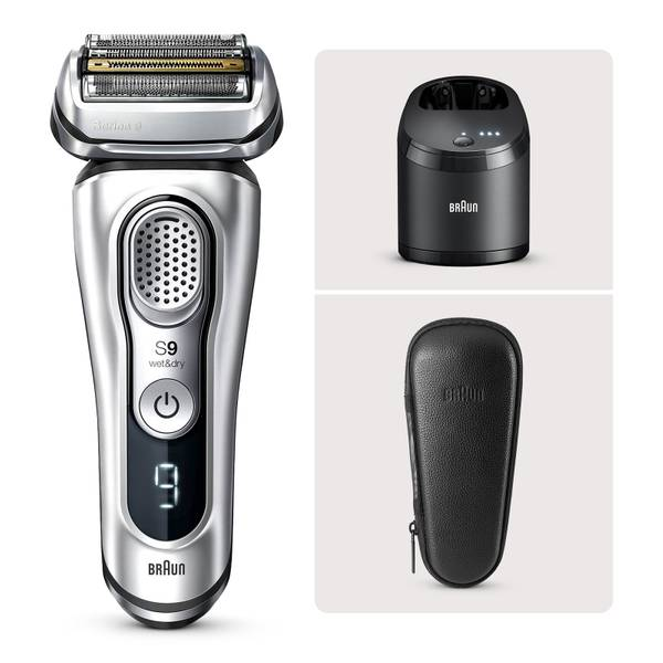 Braun Series 9 9385cc Electric Shaver with Cleaning Centre