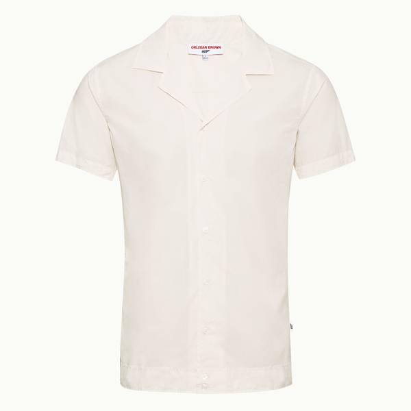 Golden Gun Shirt 007 카프리 카라 셔츠 아이보리