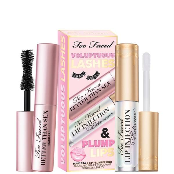 Too Faced Exclusive Limited Edition Voluptuous Lashes and Plump Lips Set