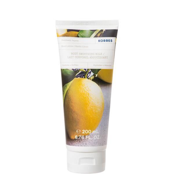 KORRES Basil Lemon Body Smoothing Milk 200ml