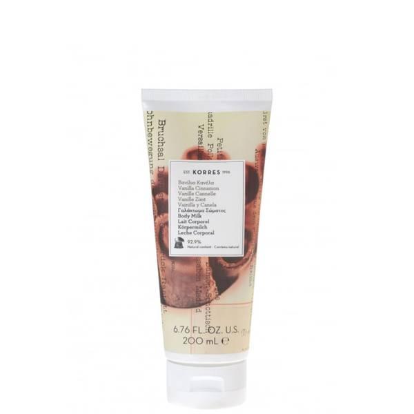 KORRES Vanilla Cinnamon Body Smoothing Milk 200ml