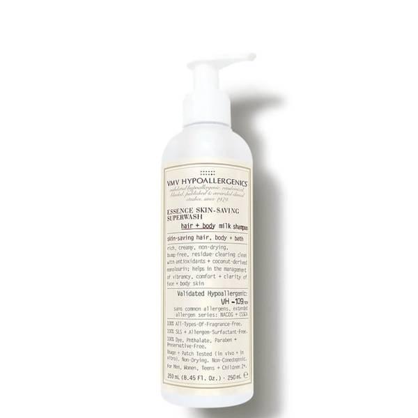 VMV Hypoallergenics Essence Skin-Saving Superwash Hair and Body Milk Shampoo (8.45 fl. oz.)