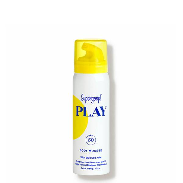 Supergoop!® PLAY Body Mousse SPF 50 with Blue Sea Kale 3 oz.