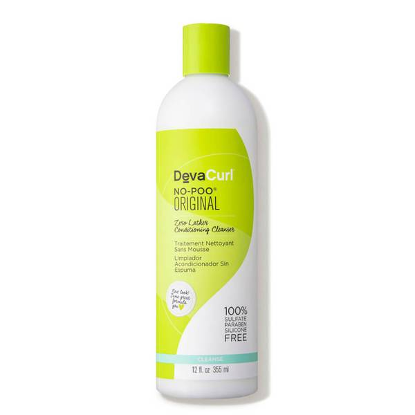 DevaCurl No-Poo Original Zero Lather Conditioning Cleanser (12 oz.)
