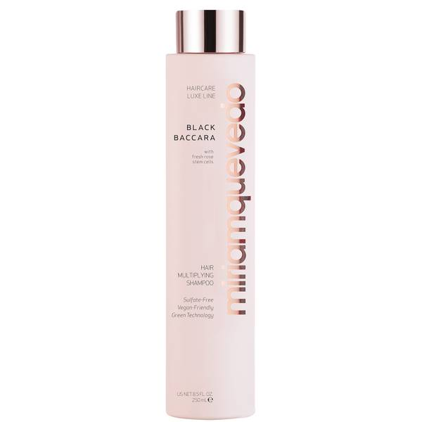 miriam quevedo Black Baccara with Fresh Rose Stem Cells Hair Multiplying Shampoo (8.5 fl. oz.)