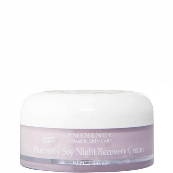 Eminence Organic Skin Care Blueberry Soy Night Recovery Cream 2 fl. Oz