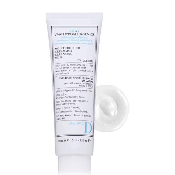 VMV Hypoallergenics Superskin Moisture Rich Creammmy Cleansing Milk for Dry Skin (4 fl. oz.)