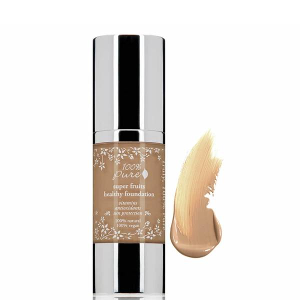 100% Pure Fruit Pigmented Healthy Skin Foundation - Toffee (1 fl. oz.)