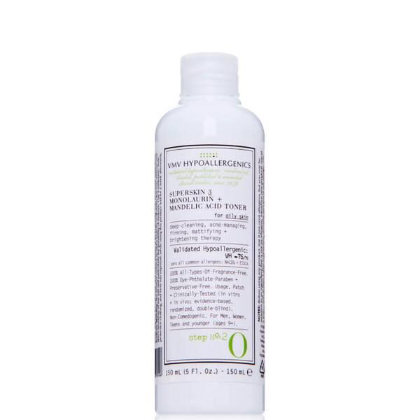 VMV Hypoallergenics Superskin 3 Monolaurin Plus Mandelic Acid Toner (5 fl. oz.)