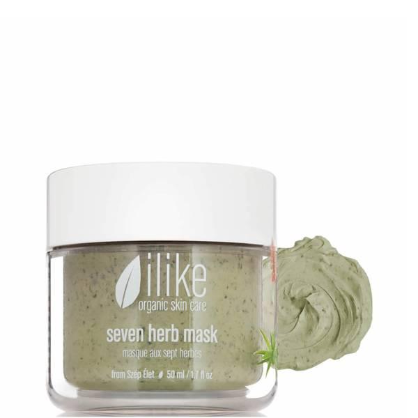 ilike organic skin care Seven Herb Mask (1.7 fl. oz.)