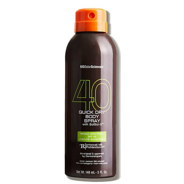 MDSolarSciences Quick Dry Body Spray SPF 40 Broad Spectrum UVA-UVB with SolSci-X (5 fl. oz.)