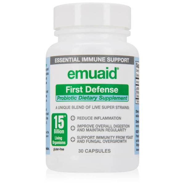 Emuaid First Defense Probiotic Supplement (30 capsules)