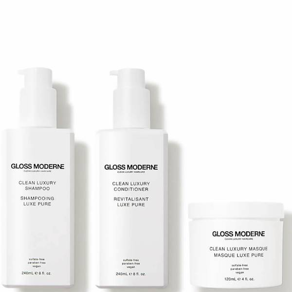 GLOSS MODERNE Clean Luxury Haircare Collection (3 piece - $155 Value)