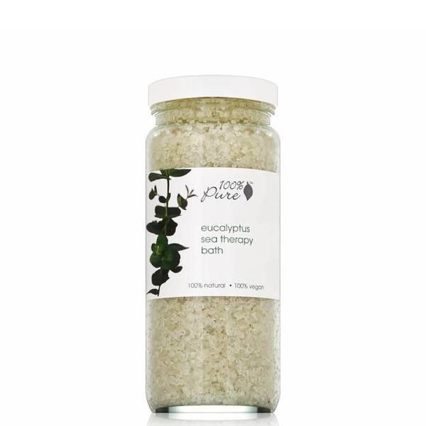 100% Pure Sea Therapy Bath - Organic Eucalyptus (15 oz.)