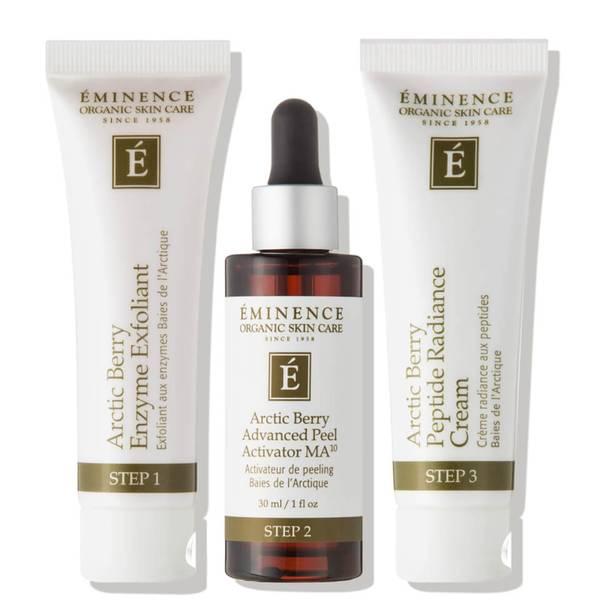 Eminence Organic Skin Care Arctic Berry Peel and Peptide Illuminating System