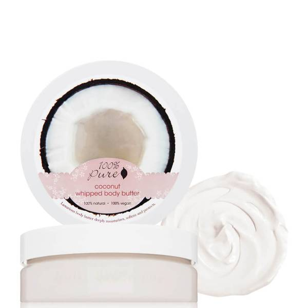 100% Pure Whipped Body Butter - Coconut (3.4 oz.)