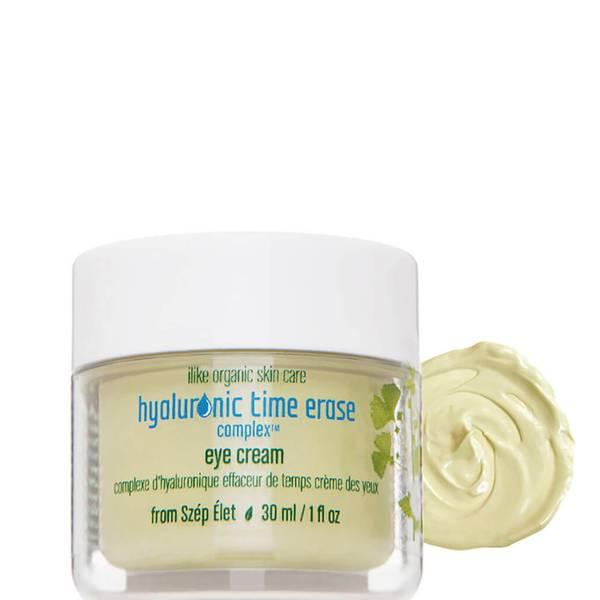 ilike organic skin care Hyaluronic Time Erase Complex Eye Cream (1 fl. oz.)