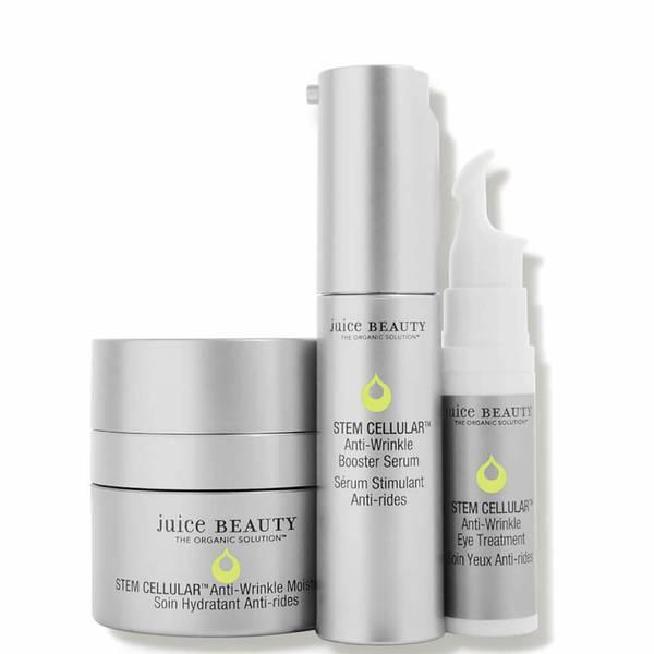 Juice Beauty STEM CELLULAR Anti-Wrinkle Solutions Kit (3 piece - $100 Value)