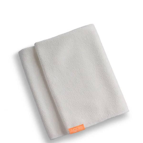 Aquis Lisse Luxe Hair Towel - White (1 piece)