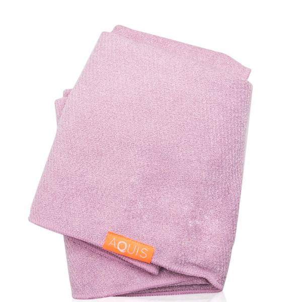 Aquis Lisse Luxe Hair Towel - Desert Rose (1 piece)