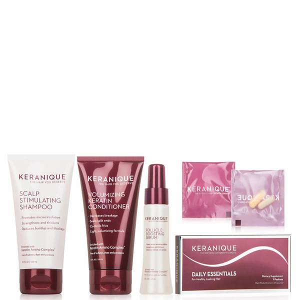 Keranique The Hair Loss Therapy Strengthening System - $65 Value