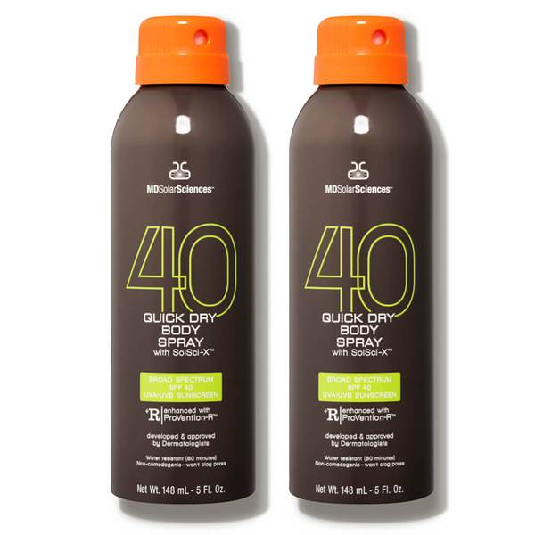 MDSolarSciences Quick Dry Body Spray SPF 40 Duo (2 piece)