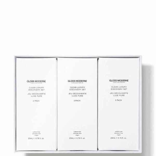 GLOSS MODERNE Clean Luxury Travel Collection (9 piece - $36 Value)