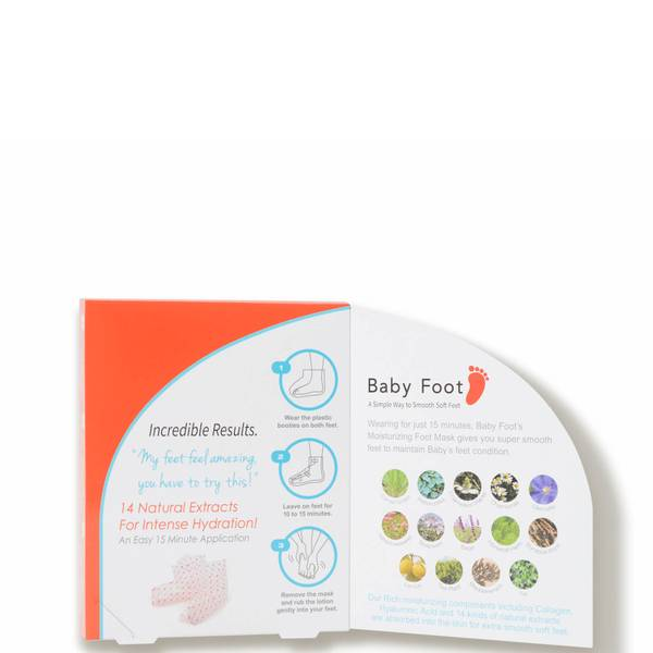 Baby Foot Moisturizing Foot Mask (1 pair)