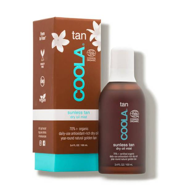 COOLA Organic Sunless Tan Dry Oil Mist (3.4 fl. oz.)
