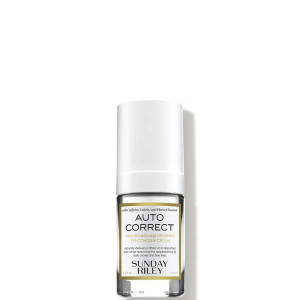 Sunday Riley Auto Correct Brightening and Depuffing Eye Contour Cream 0.5 fl. oz.
