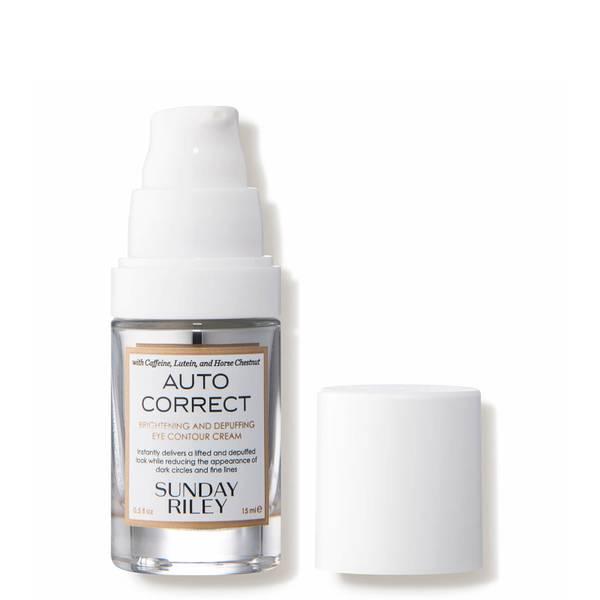Sunday Riley Auto Correct Brightening and Depuffing Eye Contour Cream (0.5 fl. oz.)