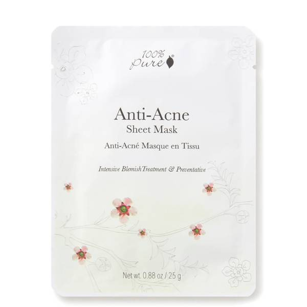 100% Pure Sheet Mask: Anti Acne (1 count)