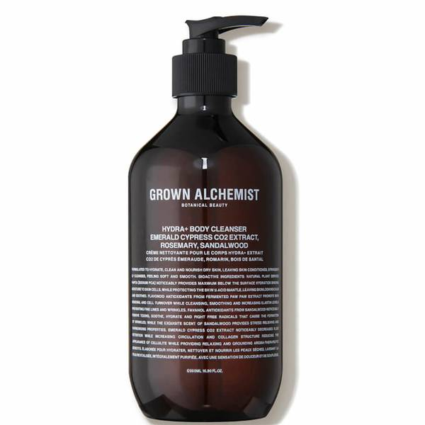Grown Alchemist Hydra+ Body Cleanser: Emerald Cypress CO2 Extract Rosemary Sandalwood (16.9 fl. oz.)