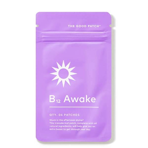 The Good Patch Plant-Based B12 Awake Patch (4 piece)