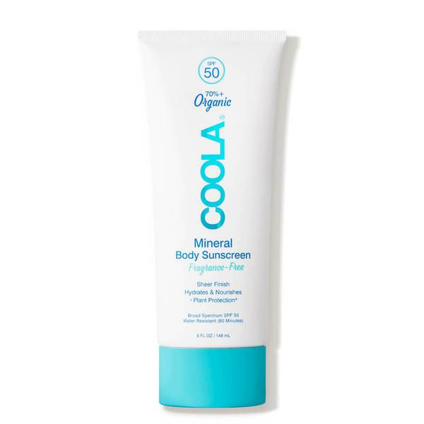 COOLA Mineral Body Sunscreen Lotion SPF 50 - Fragrance-Free (5 oz.)