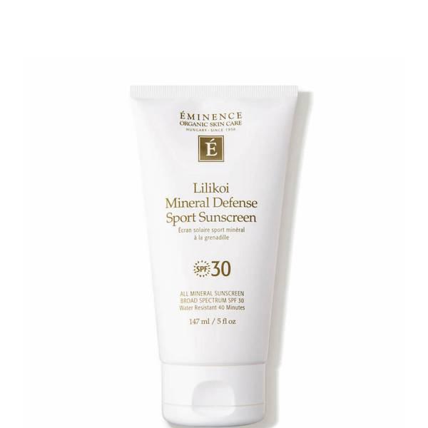 Eminence Organic Skin Care Lilikoi Mineral Defense Sport Sunscreen SPF 30 5 oz
