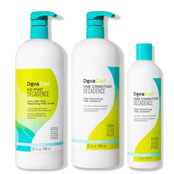DevaCurl Super Curly Double Take Cleanser Extra Conditioner Kit (3 piece - $108 Value)