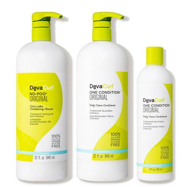 DevaCurl Curly Double Take Cleanser Extra Conditioner Kit (3 piece - $108 Value)