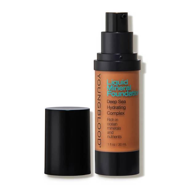 Youngblood Mineral Cosmetics Liquid Mineral Foundation - Cocoa (1 fl. oz.)