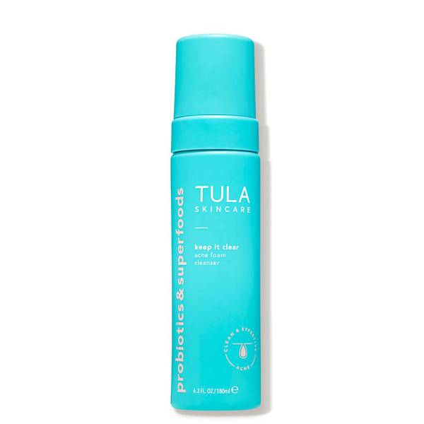 TULA Skincare Keep it Clear Acne Foam Cleanser (6.3 oz.)