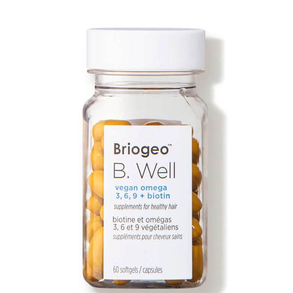 Briogeo B. Well Vegan Omega 369 Biotin Supplements (60 tablets)