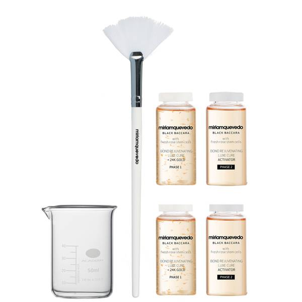 miriam quevedo Black Baccara with Fresh Rose Stem Cells Bond Rejuvenating Luxe Cure With 24K Go (6 piece)