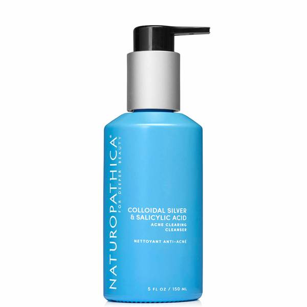 Naturopathica Colloidal Silver Salicylic Acid Acne Clearing Cleanser (5 fl. oz.)